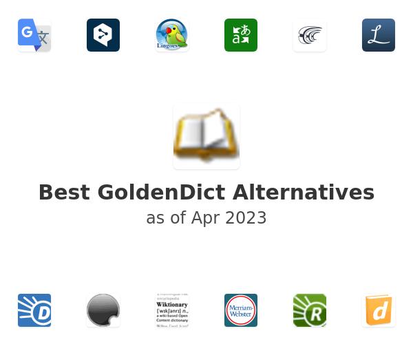 Best GoldenDict Alternatives