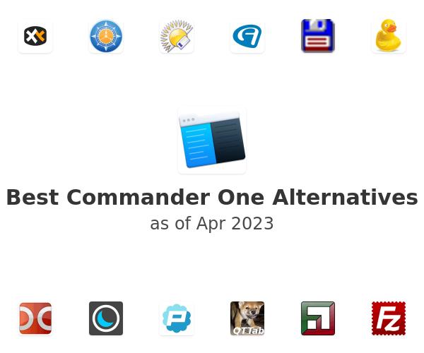 Best Commander One Alternatives
