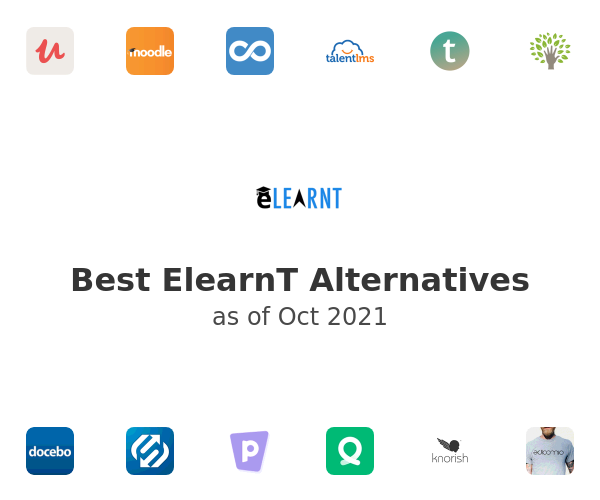 Best ElearnT Alternatives