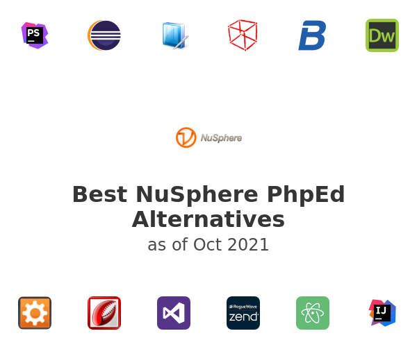 Best NuSphere PhpEd Alternatives