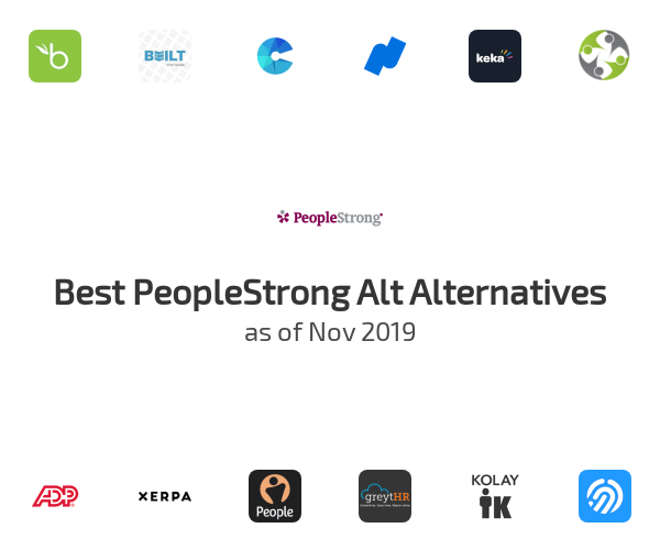 Best PeopleStrong Alt Alternatives
