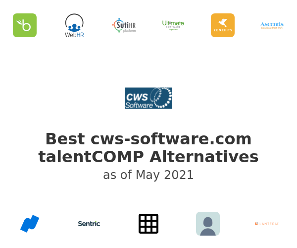 Best talentCOMP Alternatives