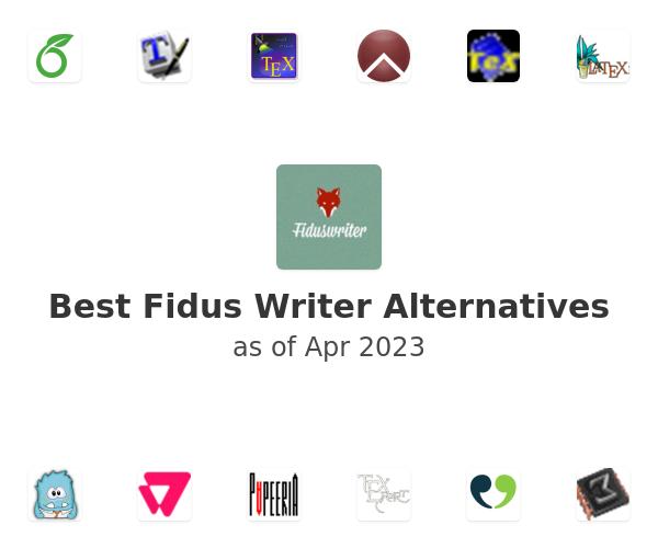 Best Fidus Writer Alternatives