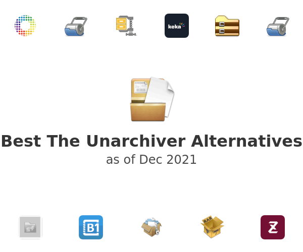 Best The Unarchiver Alternatives