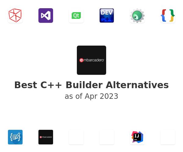 Best C++ Builder Alternatives