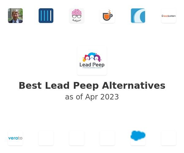 Best Lead Peep Alternatives