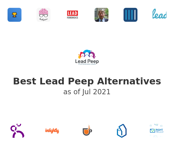 Best Lead Peep Alternatives