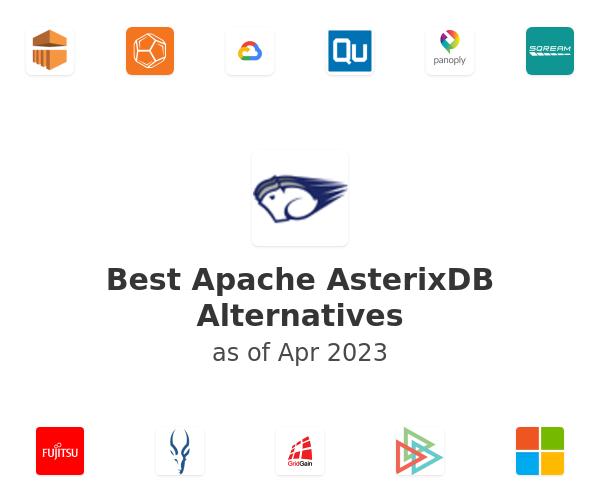 Best Apache AsterixDB Alternatives