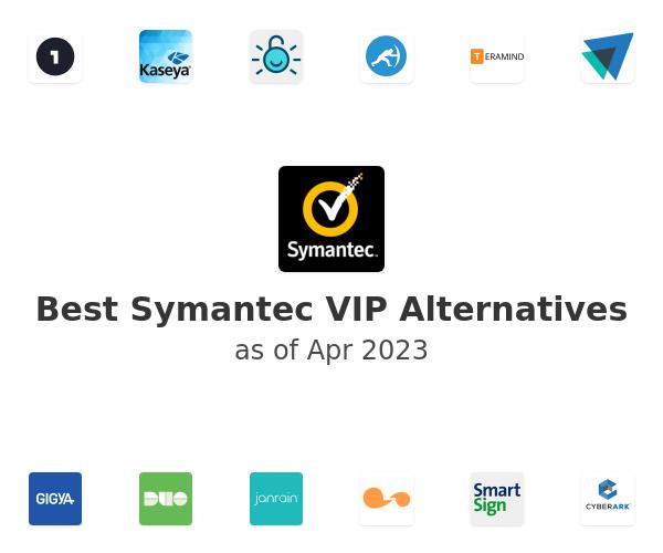 Best Symantec VIP Alternatives
