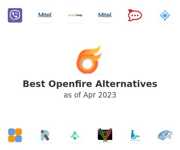 Best Openfire Alternatives