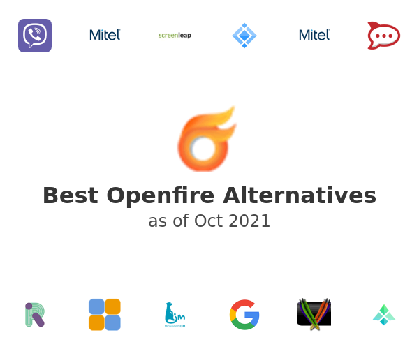 Best Openfire Alternatives