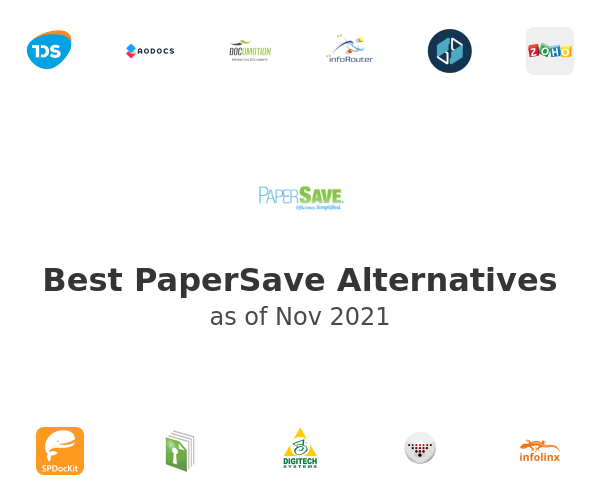 Best PaperSave Alternatives