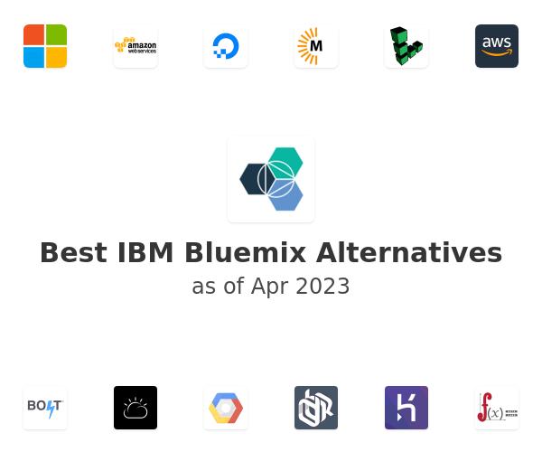Best IBM Bluemix Alternatives