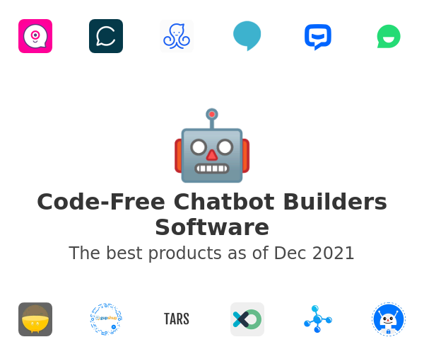 Code-Free Chatbot Builders Software