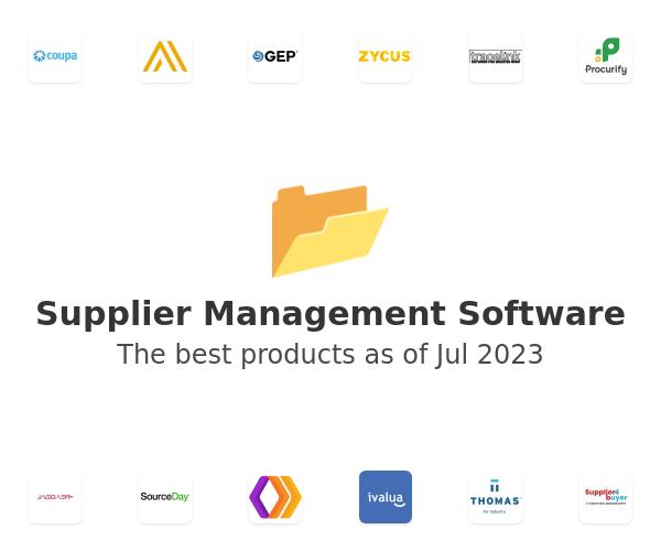 Supplier Management Software