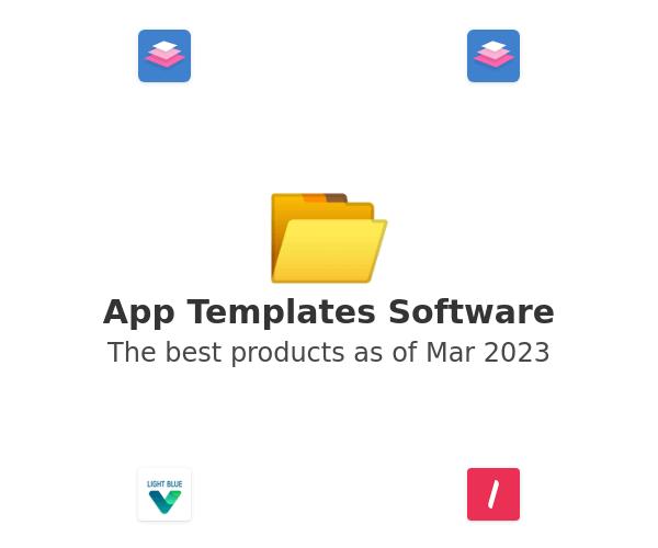 App Templates Software