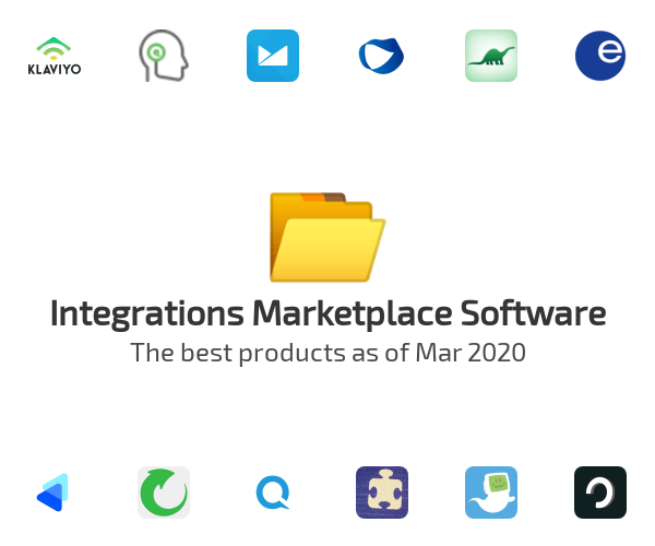 Integrations Marketplace Software