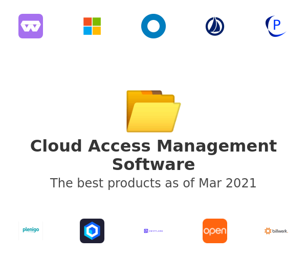 Cloud Access Management Software
