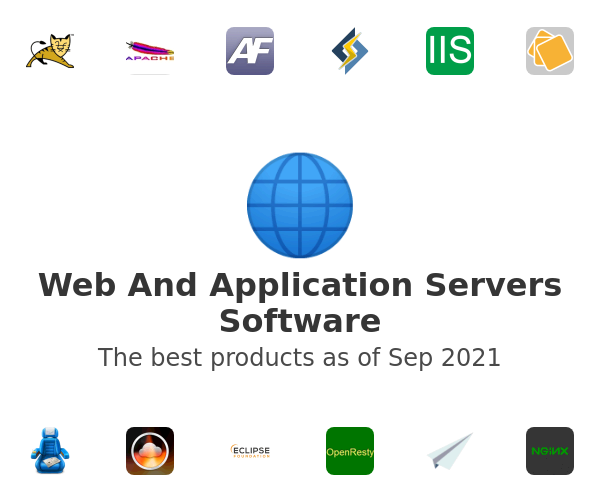 Web And Application Servers Software