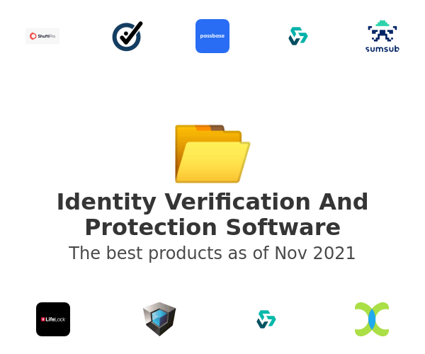 Identity Verification And Protection Software