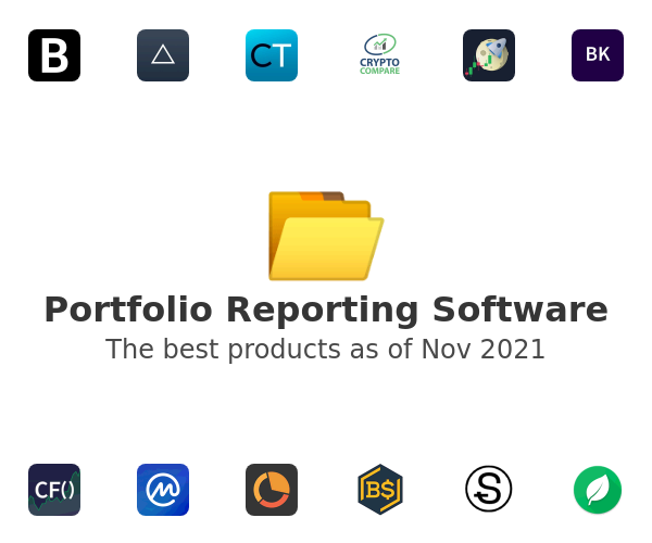 Portfolio Reporting Software