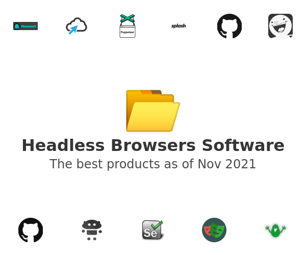 Headless Browsers Software