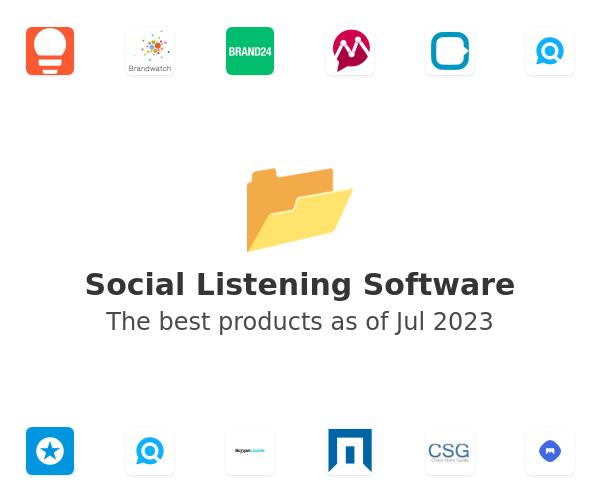 Social Listening Software