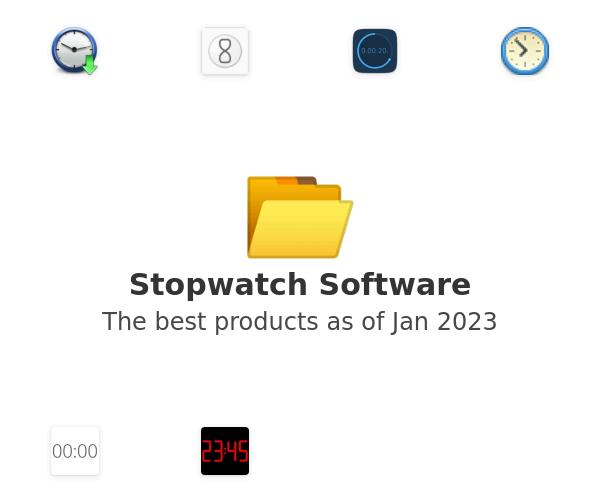 Stopwatch Software
