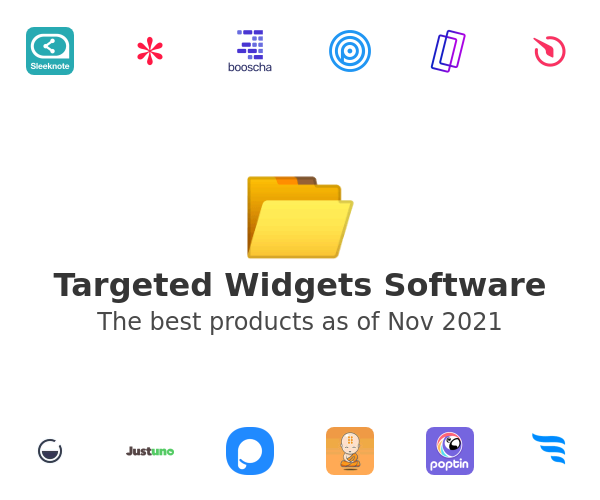 Targeted Widgets Software