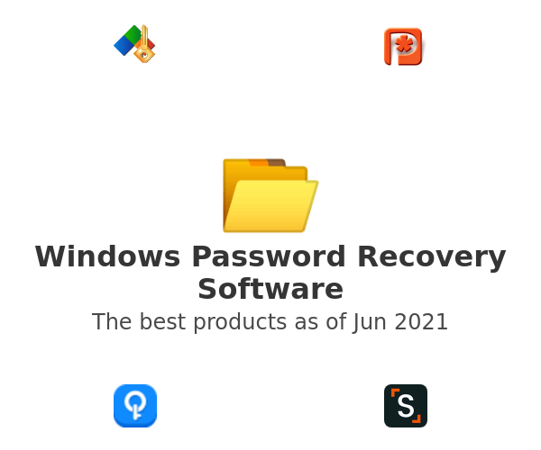 Windows Password Recovery Software
