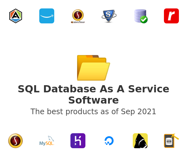 SQL Database As A Service Software