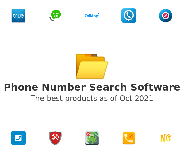 Phone Number Search Software