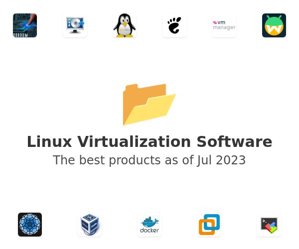 Linux Virtualization Software