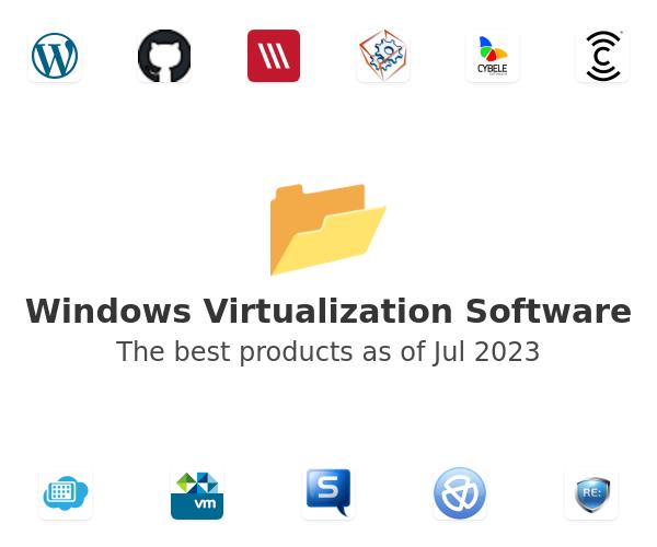 Windows Virtualization Software