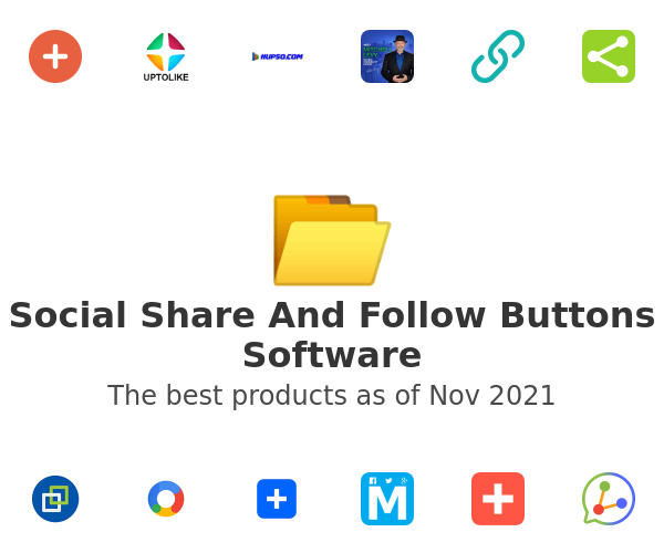 Social Share And Follow Buttons Software