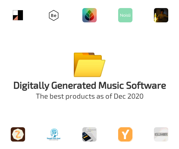 Digitally Generated Music Software