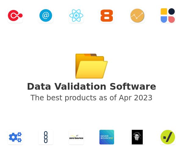 Data Validation Software