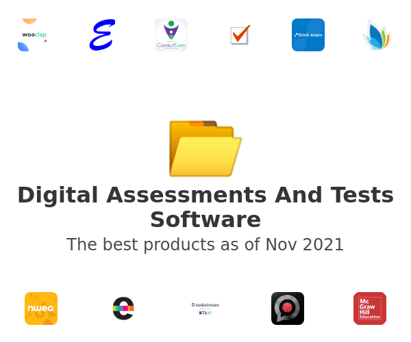 Digital Assessments And Tests Software