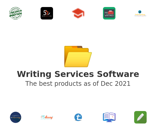 Writing Services Software