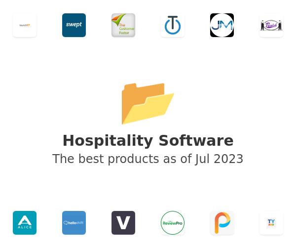 Hospitality Software