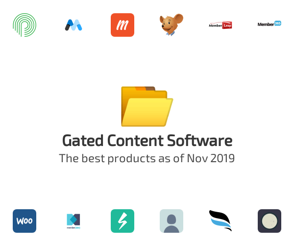 Gated Content Software