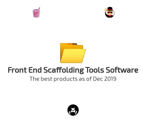 Front End Scaffolding Tools Software