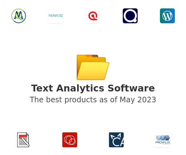 Text Analytics Software