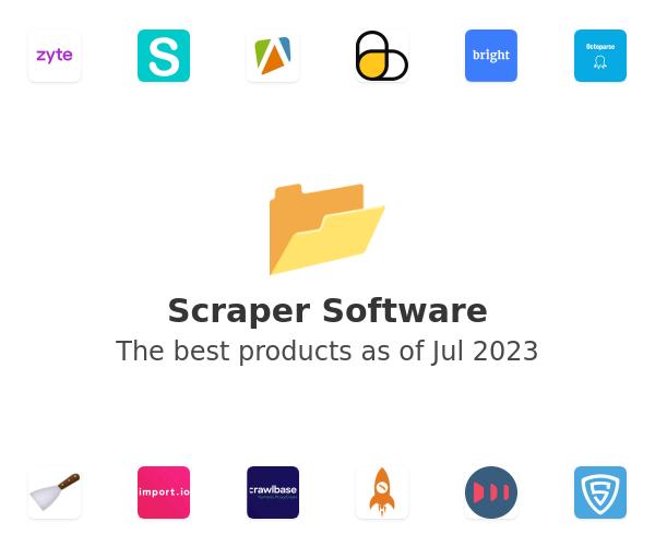 Scraper Software