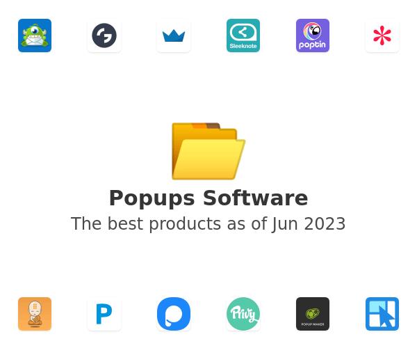 Popups Software