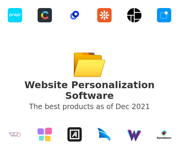 Website Personalization Software