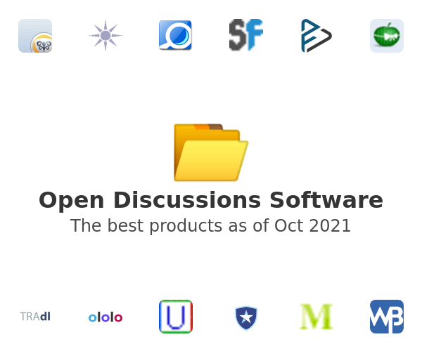 Open Discussions Software