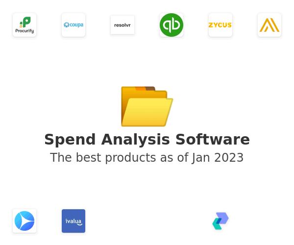 Spend Analysis Software