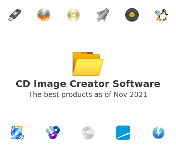 CD Image Creator Software