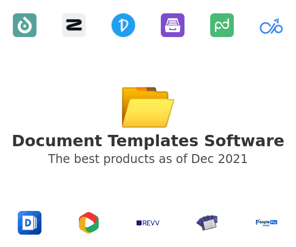 Document Templates Software